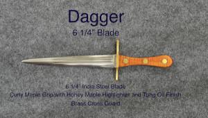 Dagger 6 1:4%22 Honey