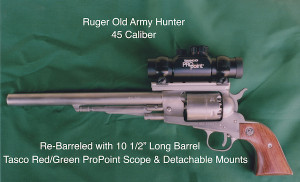 Ruger Old Army Hunter