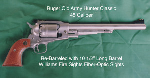 Ruger Old Army Hunter Classis