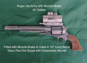 Ruger with Muzzle Brake